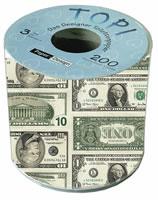 Toilettenpapier Dollar