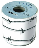 Toilettenpapier Topi Barbed wire
