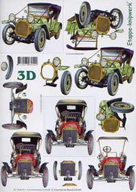 3D Bogen Oldtimers - Format A4