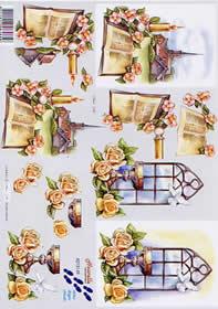 3D Bogen Kommunion - Format A4