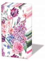 Taschentücher Flower Composition White