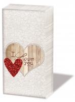 Taschentücher - I Love You