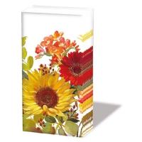 Taschentücher - Sunny Flowers Cream