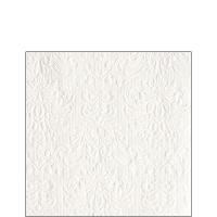 Servietten 25x25 cm - Eleganz Weiß