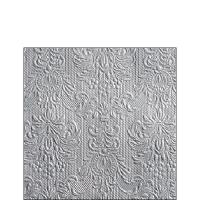 Servietten 25x25 cm - Eleganz Silber