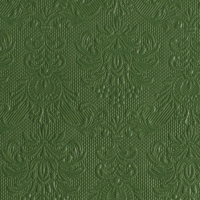 Servietten 25x25 cm - Elegance Dark Green