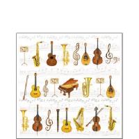 Servietten 25x25 cm - Orchester