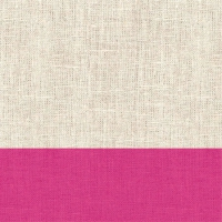 Cocktail Servietten Linen Magenta