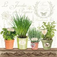 Servietten 25x25 cm - Le Jardin De Provence