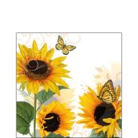 Servietten 25x25 cm - Sonniger Schmetterling