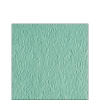 Servietten 25x25 cm - Elegance Pale Aqua