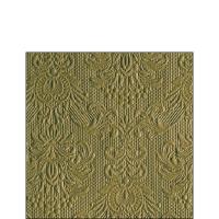 Servietten 25x25 cm - Eleganz Olivgrün