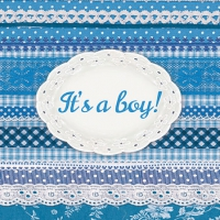 Servietten 25x25 cm - It´s A Boy