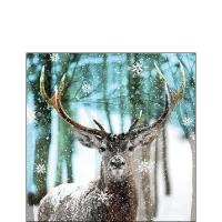 Servietten 25x25 cm - Winter Deer