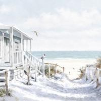 Servietten 25x25 cm - Beach Cabin
