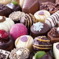 Servietten 25x25 cm - Luxury Chocolates