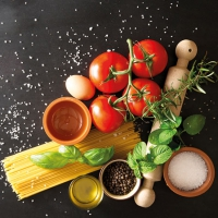 Servietten 25x25 cm - Italian Food