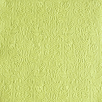 Servietten 33x33 cm - Elegance Light Green