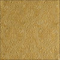 Servietten 33x33 cm - Elegance Gold