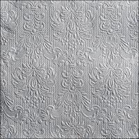 Servietten 33x33 cm - Elegance Silver