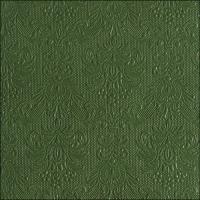 Servietten 33x33 cm - Elegance Dark Green