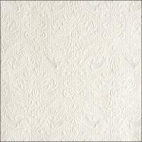 Servietten 33x33 cm - Elegance Pearl White