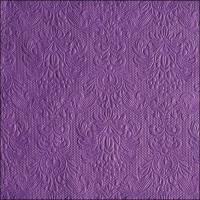 Servietten 33x33 cm - Elegance Purple
