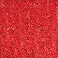 Servietten 33x33 cm - Elegance Red
