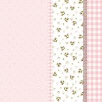 Servietten 33x33 cm - Lilly Pink