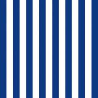 Servietten 33x33 cm - Stripes Navy Blue
