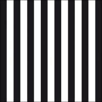 Servietten 33x33 cm - Stripes Black