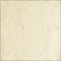 Servietten 33x33 cm - Elegance Pearl Cream