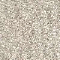 Servietten 33x33 cm - Elegance Pearl Taupe