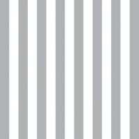 Servietten 33x33 cm - Stripes Silver
