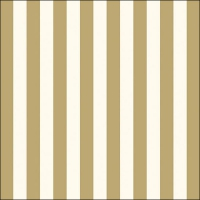Servietten 33x33 cm - Stripes Gold