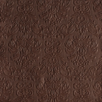 Servietten 33x33 cm - Elegance Brown