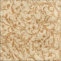 Servietten 33x33 cm - Elegance Damask Cream/Bronze