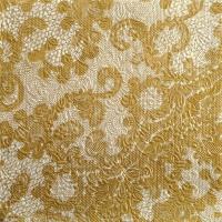 Servietten 33x33 cm - Elegante Spitze Gold