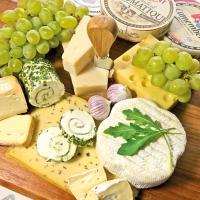 Servietten 33x33 cm - Cheese