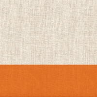 Servietten 33x33 cm - Linen Orange