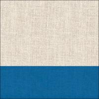Servietten 33x33 cm - Linen Blau
