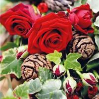 Lunch Servietten Roses