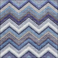 Servietten 33x33 cm - Textured Chevron Blue