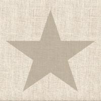 Servietten 33x33 cm - Star Linen Sand