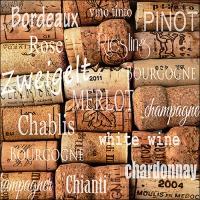 Servietten 33x33 cm - Wine Corks