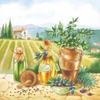 Lunch Servietten Toscana