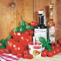 Lunch Servietten Pomodori