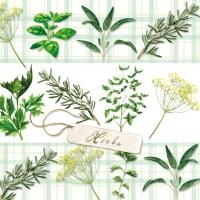 Servietten 33x33 cm - Herbs