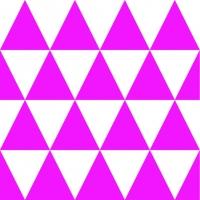 Servietten 33x33 cm - Triangle Magenta