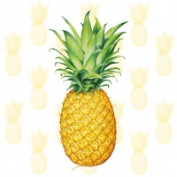 Servietten 33x33 cm - Tropical Fruit